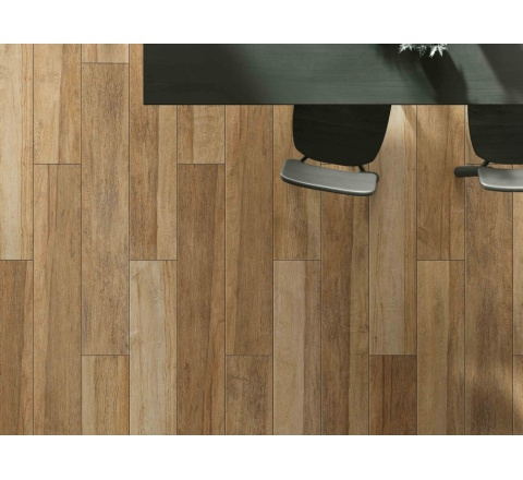 VALLEY-Porcelain tile with wood effect